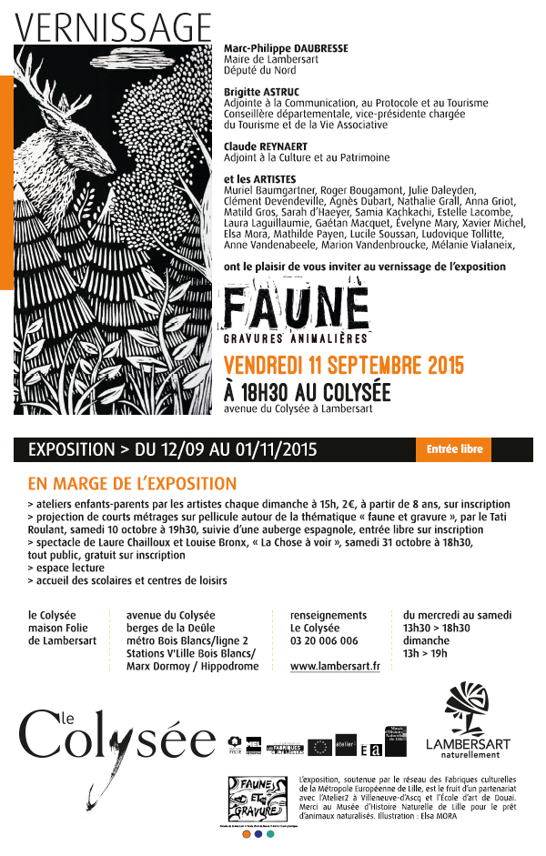 FAUNE INVITATION mail